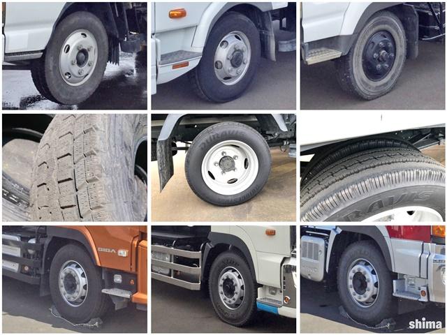 トラック用タイヤの種類