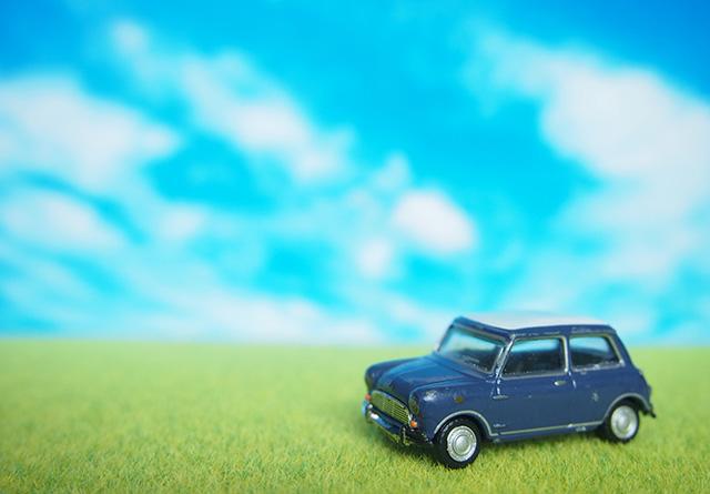 車のミニュチュア